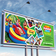 Kids Summer Camp Billboard Template