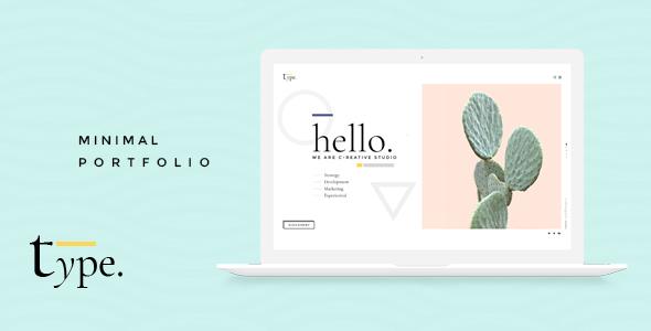 Type – Creative WordPress Theme (Portfolio) images