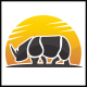 Rhino Sun Logo