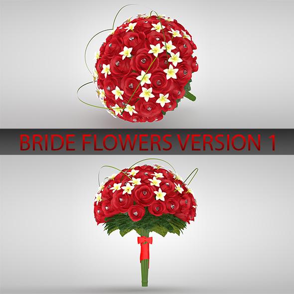 3DOcean Bride flower version 01 19887117