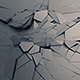 Cracked Surface, 3D Render