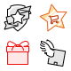 Shopping & E-Commerce (45 icons)