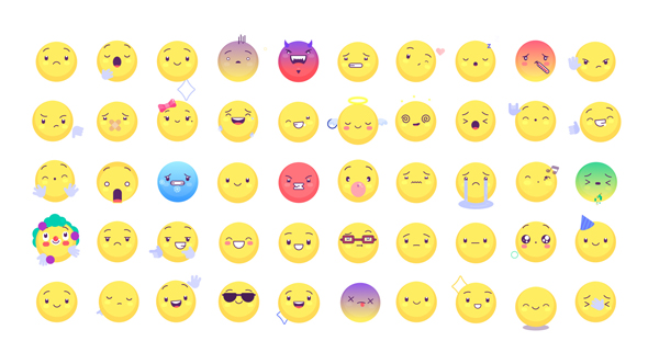 Animated Emoticons Pack v. 2