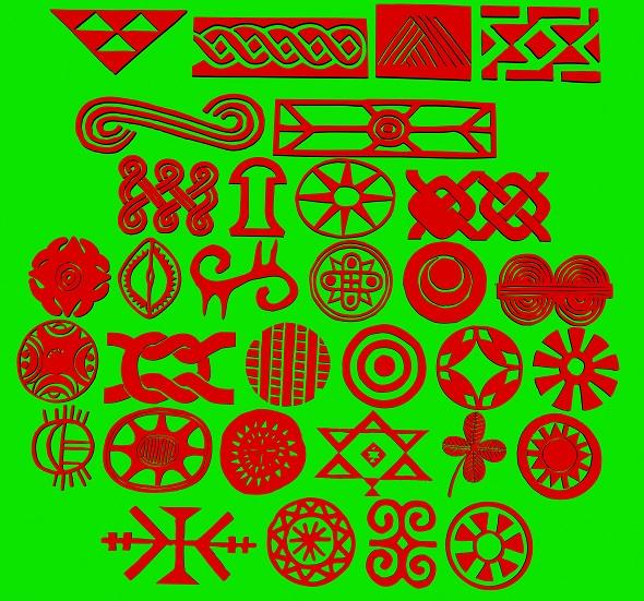 3DOcean African ornaments 19889621