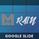 Rain - Creative Google Slide Template