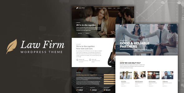 Download Law Firm - Lawyer & Attorney WordPress Theme