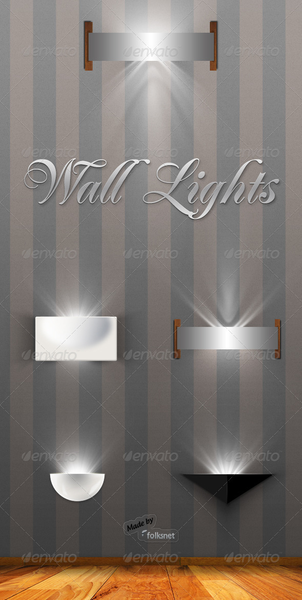 Wall Lights - Decorative Graphics