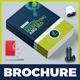 Bi-Fold Brochure Template for SEO (Search Engine Optimization) & Digital Marketing Agency / Company