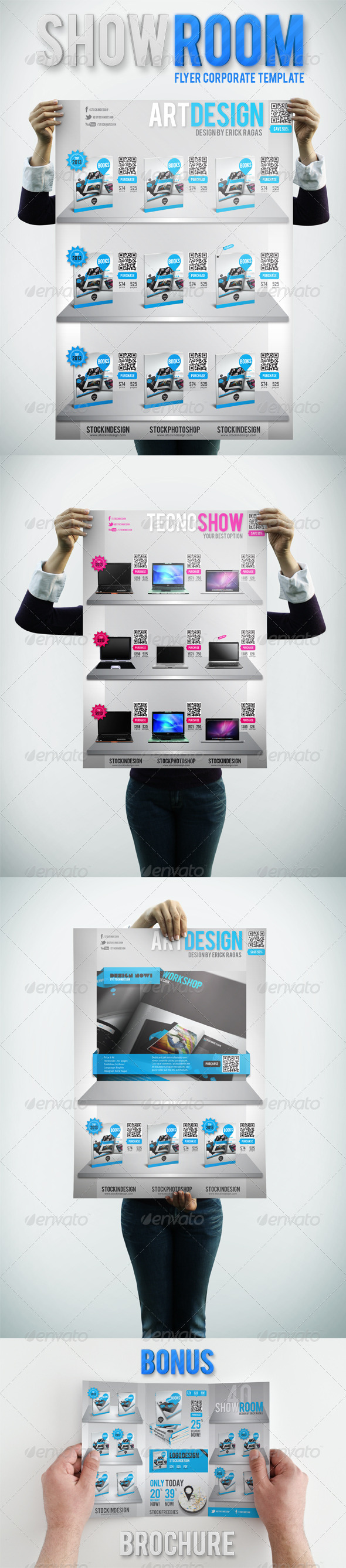 GraphicRiver ShowRoom Flyer Corporate Products 1946703