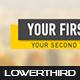 Flat Simple Lowerthird 4