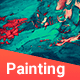 50 Realistic Painting Backgrounds