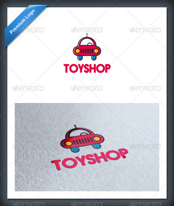 Car Toy Logo Template