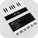 Business Card Piano