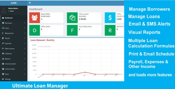Ultimate Loan Manager (Project Management Tools)