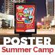 Kids Summer Camp Poster Template