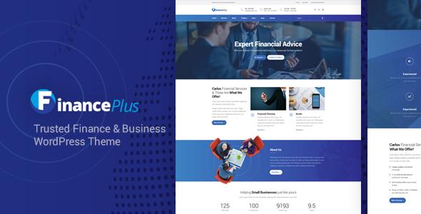 FinancePlus - Finance and Business WordPress Theme