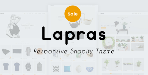 Image of Lapras Responsive Shopify Theme