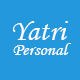 Yatri-Personal Responsive Bootstrap Template