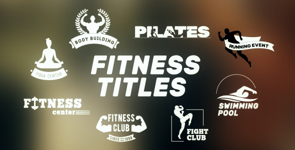 VideoHive Fitness Sport Titles 19870515