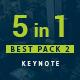 5 in 1 Bundle Keynote Pack 2