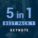 5 in 1 Bundle Keynote Pack 1