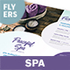 Spa Flyers 8 – 4 Options