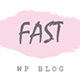 FastBlog - Elegant & Simple WordPress Blog Theme