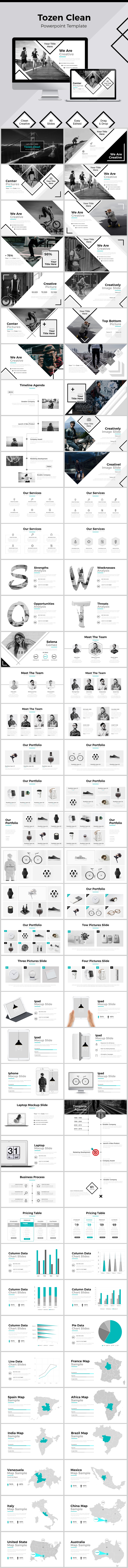 Tozen Powerpoint Template (PowerPoint Templates)