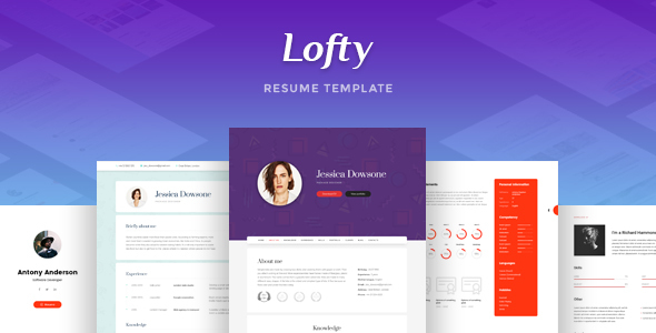 Lofty - CV / Resume Template