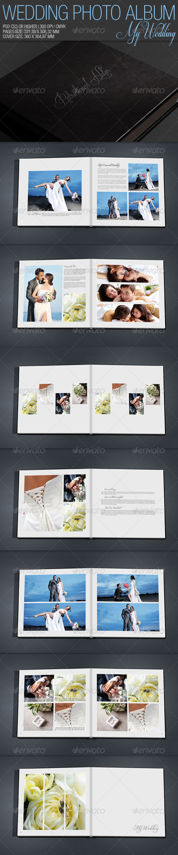 GraphicRiver Wedding Photo Album 1947187