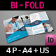 Medical Care Bi-Fold Brochure Template