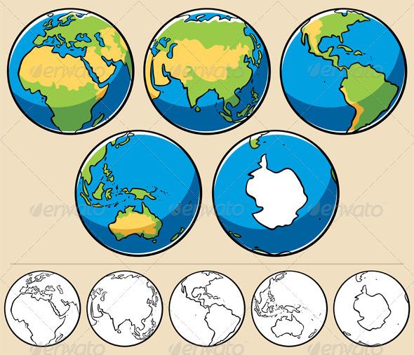 GraphicRiver Earth 1947827