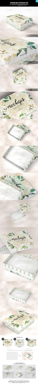 Paper Box Mockup 05
