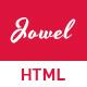 Jowel - Personal Portfolio HTML Template