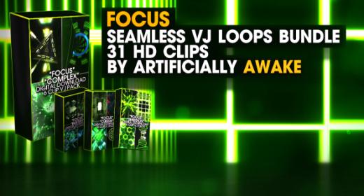Focus VJ Loops Bundle