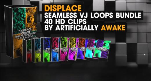 Displace VJ Loops Bundle