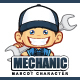 Mechanic Mascot Character
