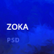 Zoka Multipurpose PSD Template