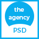 The Agency - PSD Template for Corporate Agency