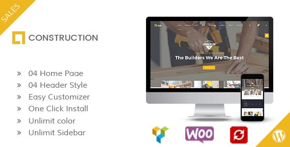Nah Building, Creating Business enterprise WordPress Theme (Business enterprise)