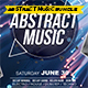 Abstract Music Template Bundle