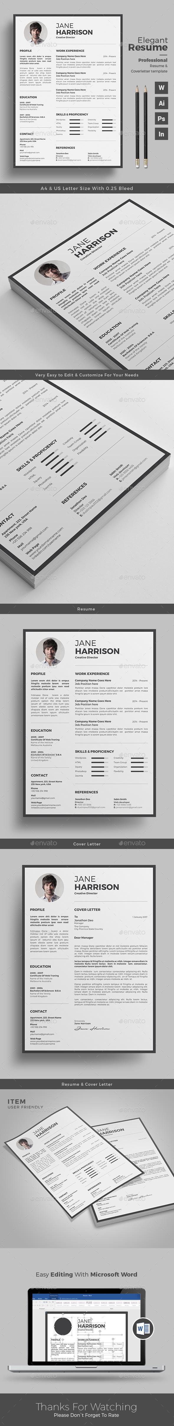 Clean Resume/CV