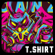 Sprayz Canz T-Shirt Design