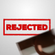 Rejected - Stamp