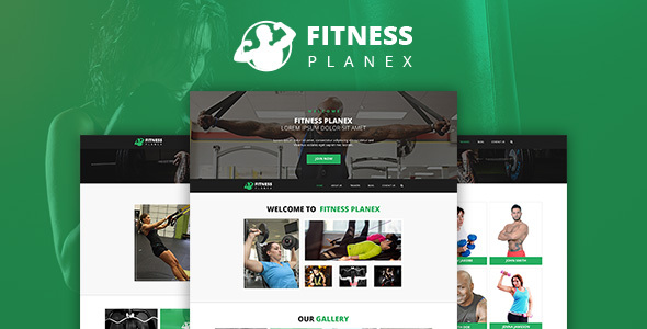 Fitness Trainer – GYM & Yoga Multi Purpose PSD Template by WebPlanex
