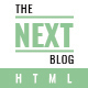 The Next Blog - Bloging HTML Template