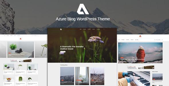 Azure - Blog WordPress Themes