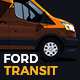 Ford Transit Delivery Van Mock-Up