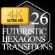 Futuristic Hexagons Transitions