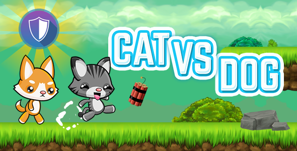 Download Cat Vs Dog Html5 Game Capx Free 19902961 Codecanyon
